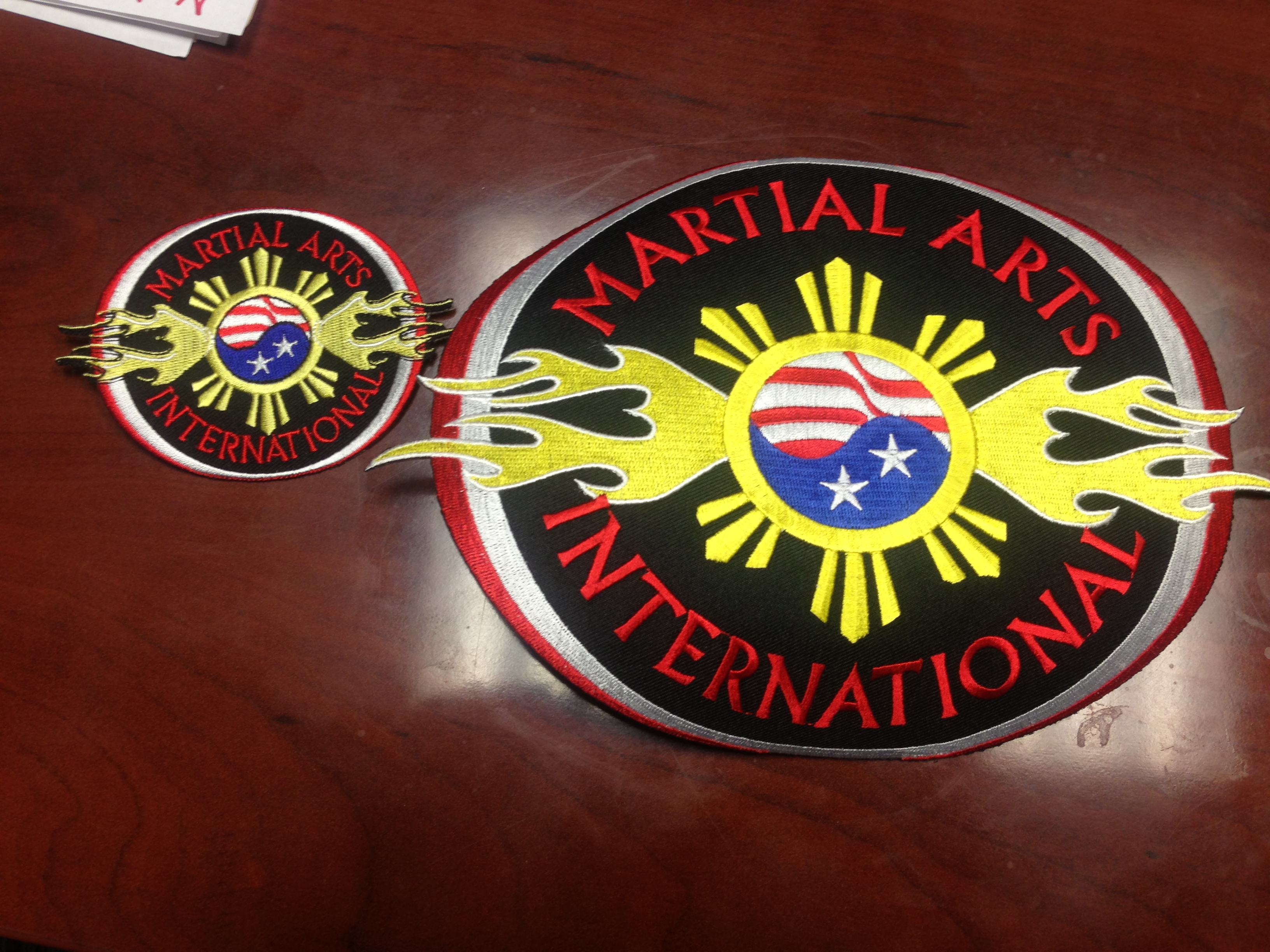 Martial Arts International Patch