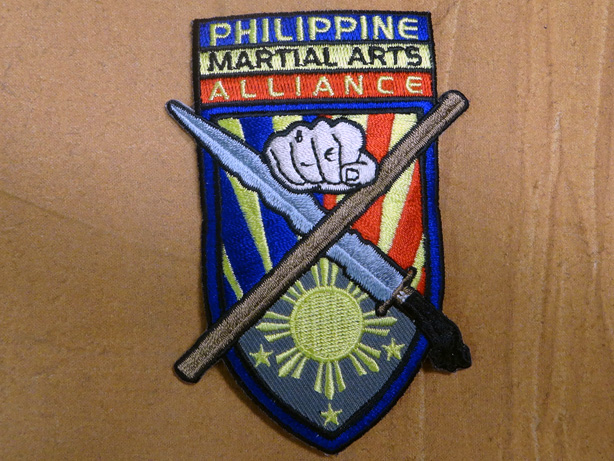 Philippine Martial Arts Alliance (PMAA) Patch